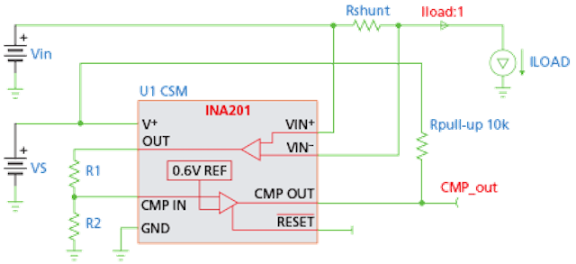 Protect an LED driver against output shorts to ground
