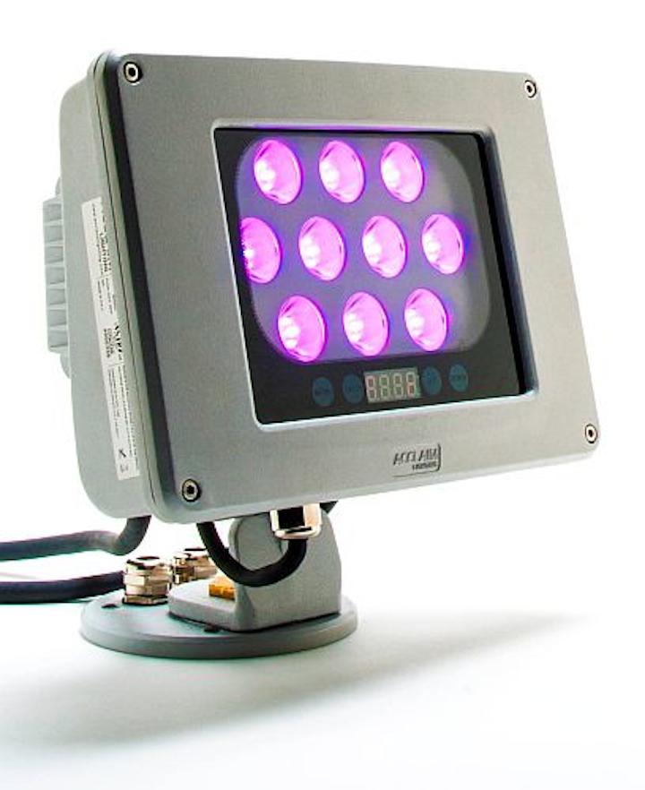 Acclaim Lighting releases Dyna Flood QA and QW quad-color LED floodlights