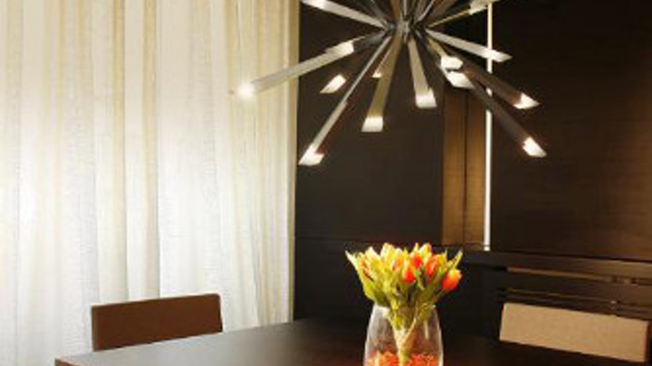 Blackjack Lighting launches Starburst LED chandelier employing optical light guides