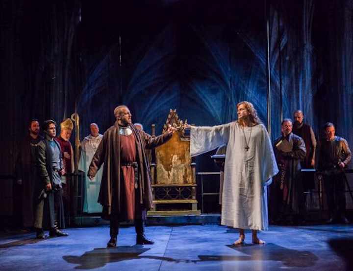 Royal Shakespeare Company's production of Richard II shines with Chroma-Q Color Force LEDs