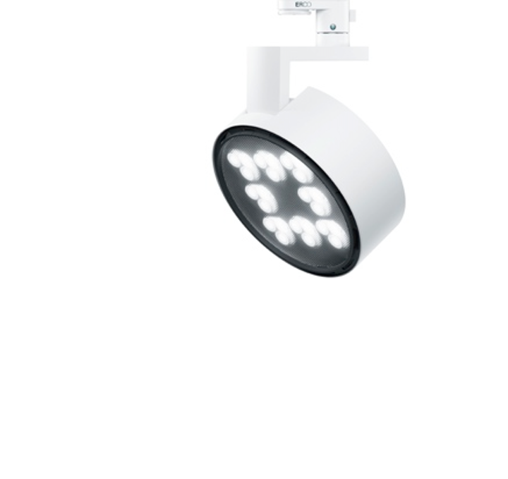 ERCO's Parscan LED spotlight offers various light distribution effects for retail lighting