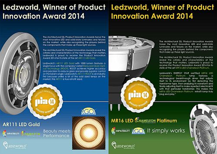 Ledzworld adds dimmable AR-111 LED lamp with Chameleon driver to product line