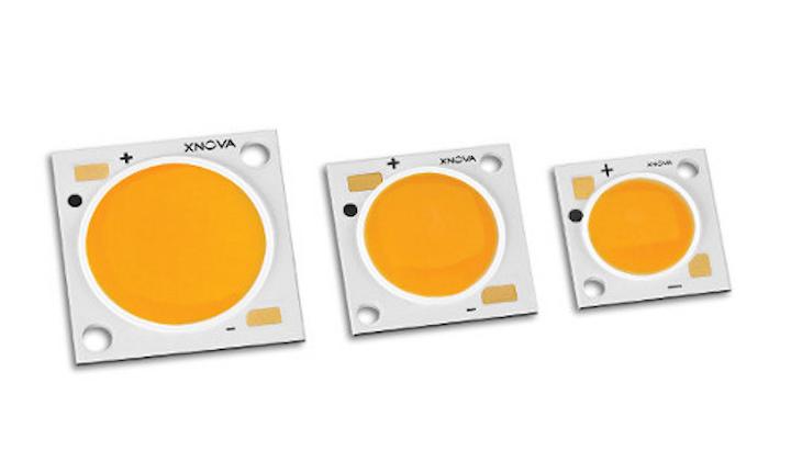Luminus reports Xnova COB LEDs achieve 145 lm/W at 5000K, participates at Strategies in Light