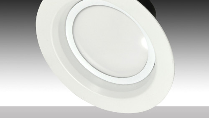 MaxLite 6-in. LED residential downlights deliver up to 1200 lm with 12W and 19W energy consumption