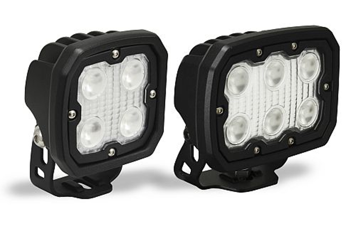 Vision X Duralux LED Series lights are available in 40- or 60-degree beam configurations