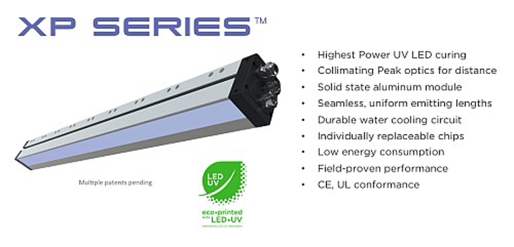 Air Motion Systems unveils XP7 Series LED-UV curing system at PRINT UV 2014