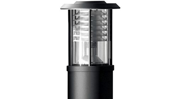 HessAmerica's Valencia LED bollard is available in 3000K and 4000K color temperature versions