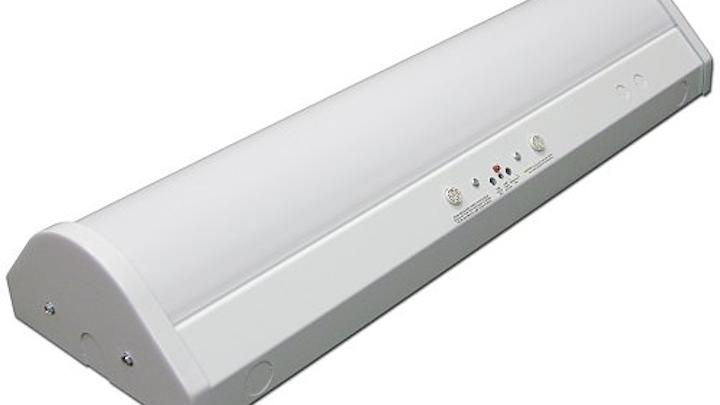 LaMar Lighting's VO-LED Series bi-level luminaire controlled by occu-smart motion sensors