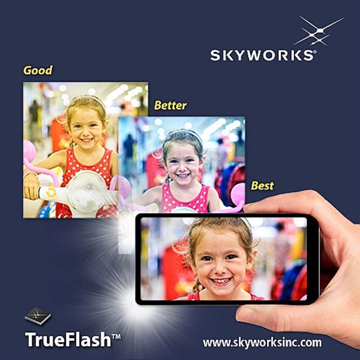 Skyworks unveils SKY81296 dual-LED flash driver for smartphones