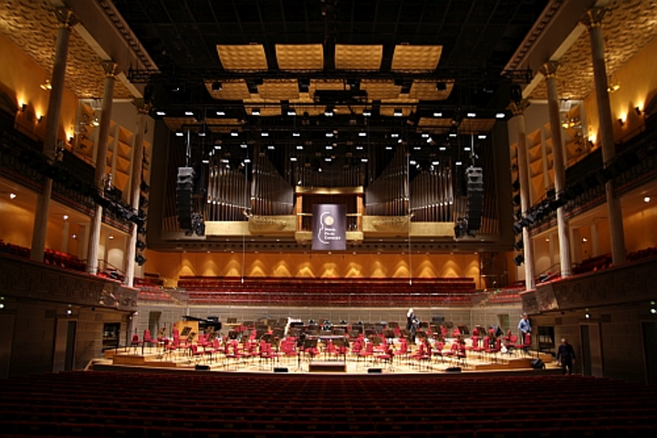 Stockholm Concert Hall renovates with cool-running LED lighting