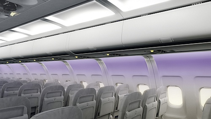 RGB LEDs and color sensor provide consistent aircraft cabin lighting