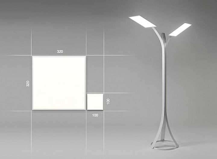 LG Chem reveals the world's largest OLED light panel at Light+Building 2014