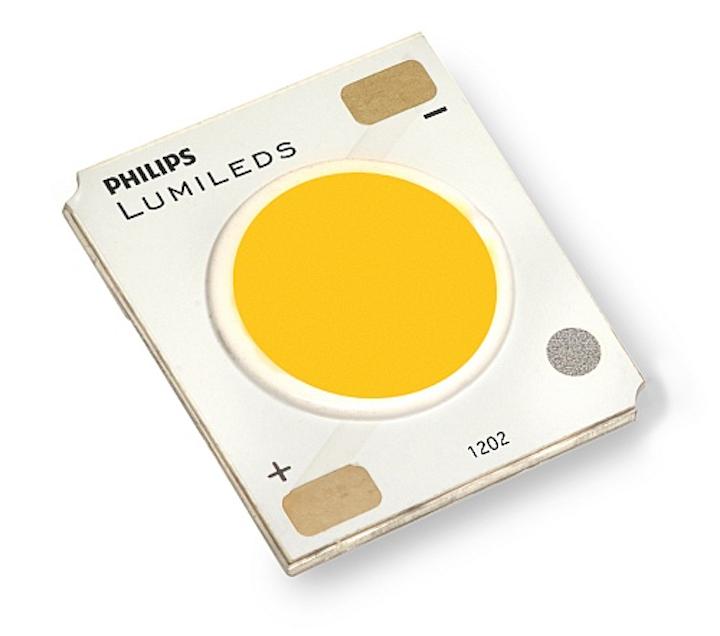 Philips Lumileds introduces 9-mm-LES COB LED for PAR lamp applications