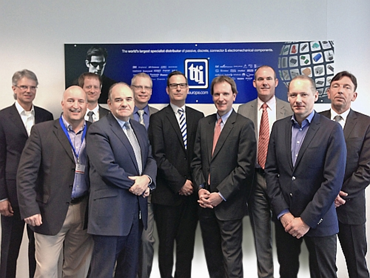 TE Connectivity forms strategic distribution partnership with connectivity products supplier TTI Europe