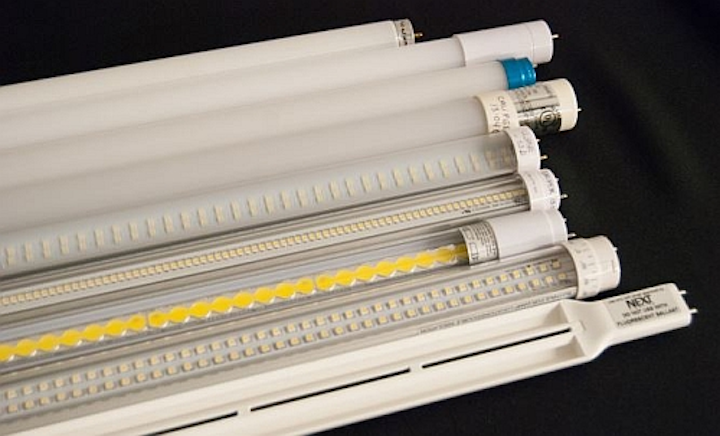 DOE's updated LED T8 Caliper report indicates improved performance, but lumen output lags