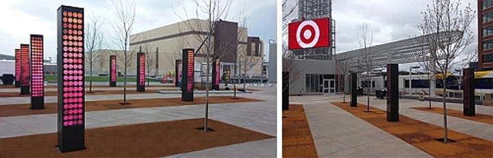Multiple Daktronics LED video displays to be installed at Target Field Station