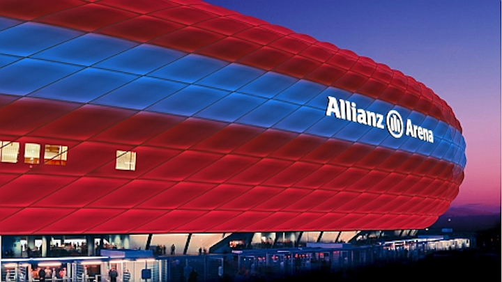 Philips partners with FC Bayern Munich for live LED lighting shows at Allianz Arena