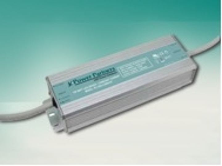 Power Partners' 120W constant-current LED driver features optional dimming control