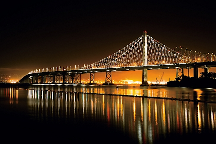 Cree and Musco light Bay Bridge with LEDs, Musco wins sports complex project