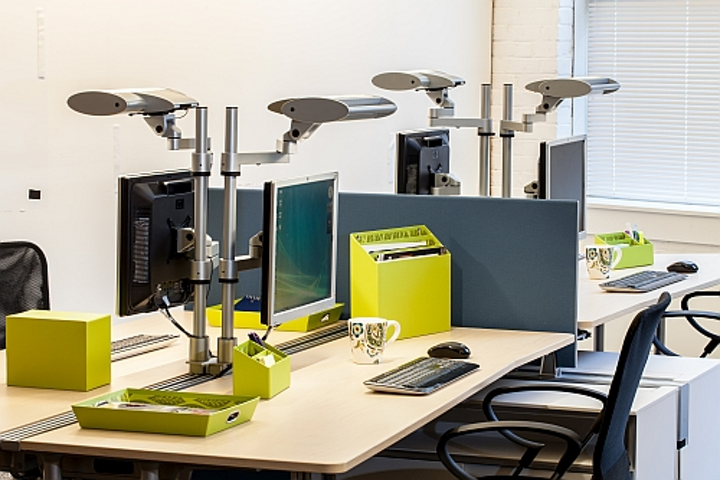 The Lighting Quotient launches workstation LED fixtures with controls