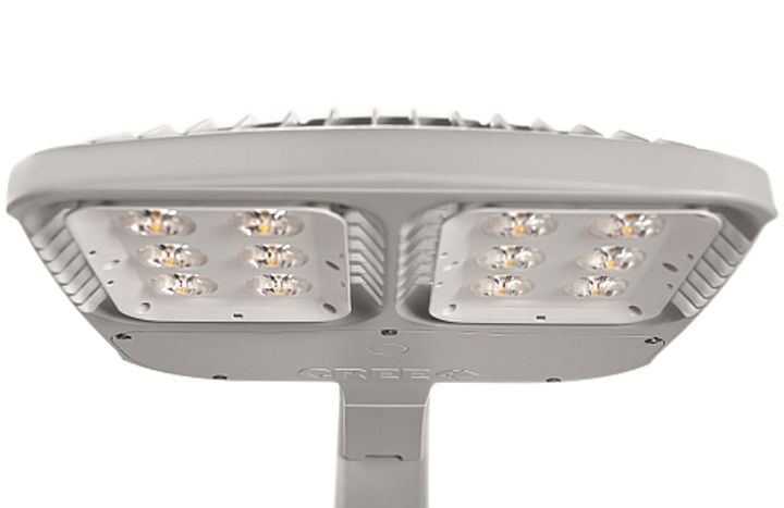 Cree launches thin LED area fixture with new hybrid-TIR optic