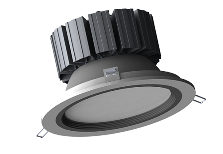 Color Vision's 60W LED downlight fits various commercial lighting applications