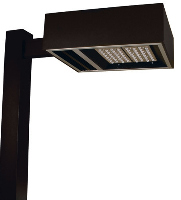 Hubbell Lighting and Totus Solutions demonstrate LED light fixture with Active Deterrence surveillance at LightFair