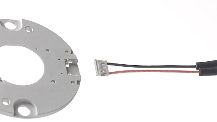 Molex plastic substrate interconnect eliminates soldering for LED COB array holders