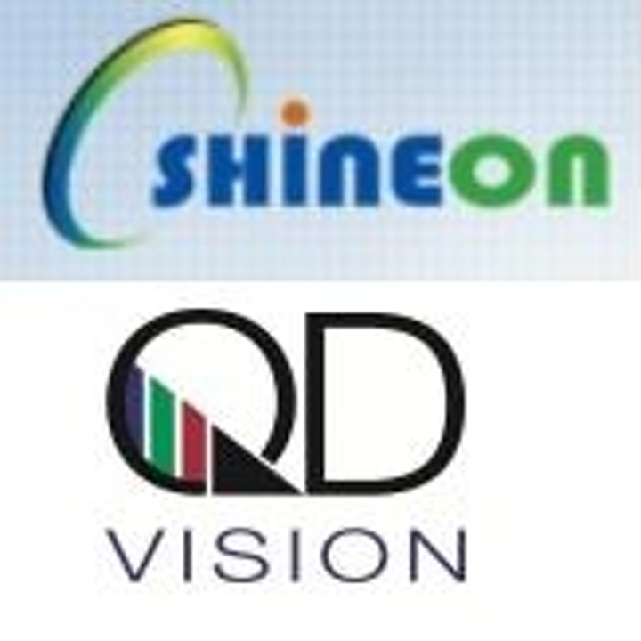 QD Vision and ShineOn optimize integrated LED and optical component systems for displays