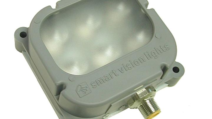 Smart Vision Lights' Grey Series LED lights in multiple wavelengths for machine-vision and industrial tasks