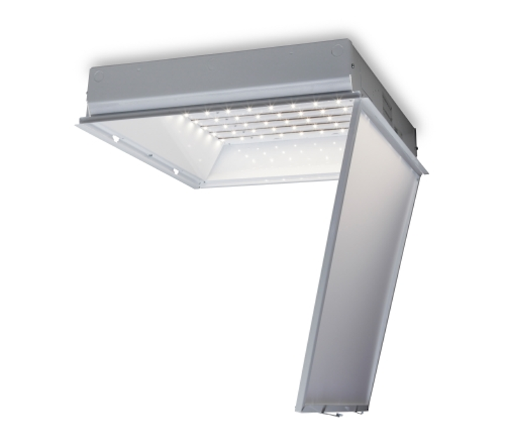 GE Lighting adds LED-based planar troffer with dimming support