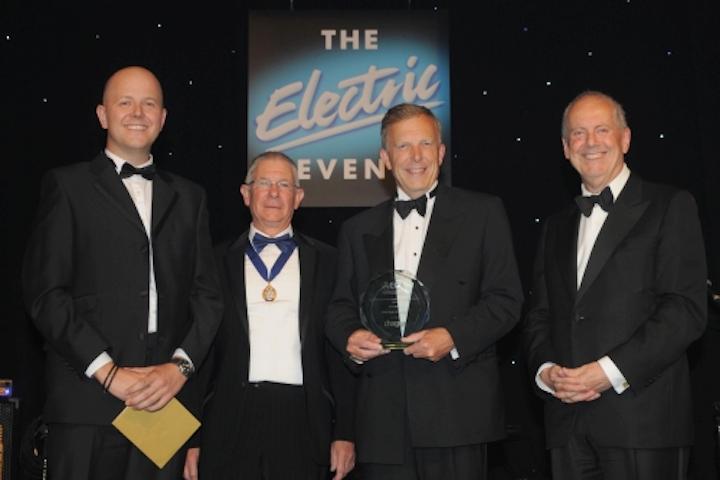 Specialist lighting supplier Weblight presented Electronic Contractors' Association award