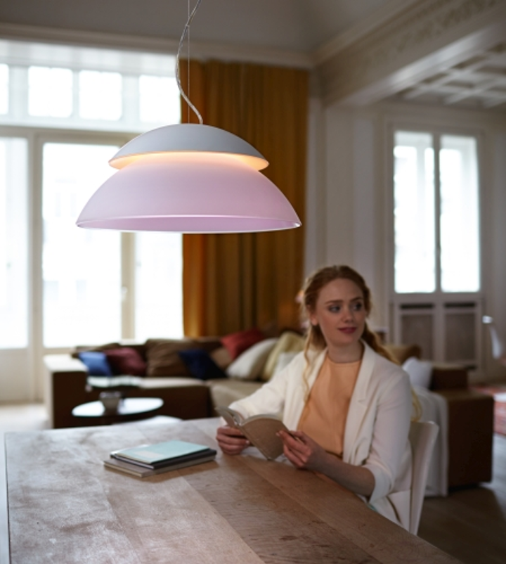 Philips expands Hue LED family with table, pendant, and ceiling luminaires