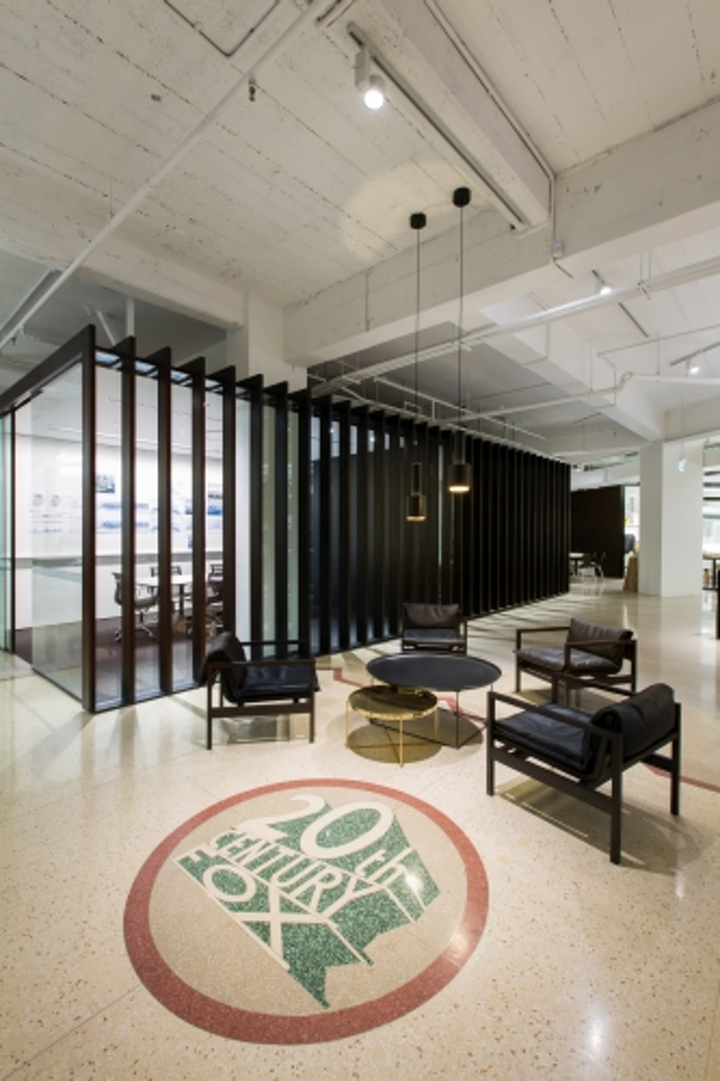PointOfView designs lighting scheme for Bates Smart architect offices