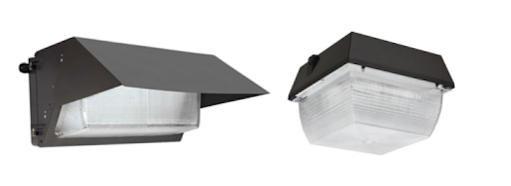 Sensetechlight-designed LED canopy and wall pack light fixtures are now available