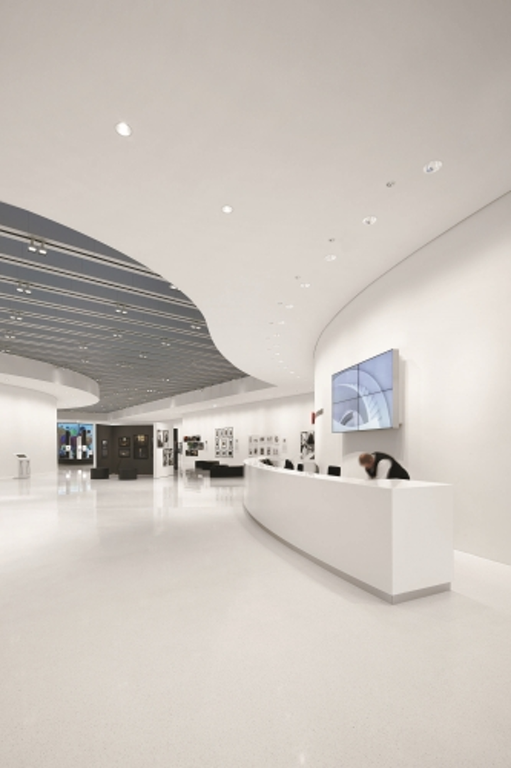 Zumtobel lights new Leica facility with solid-state lighting and fluorescent fixtures