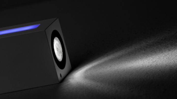 Lam32's Brick LED luminaire achieves long-distance illumination with PMMA lenses