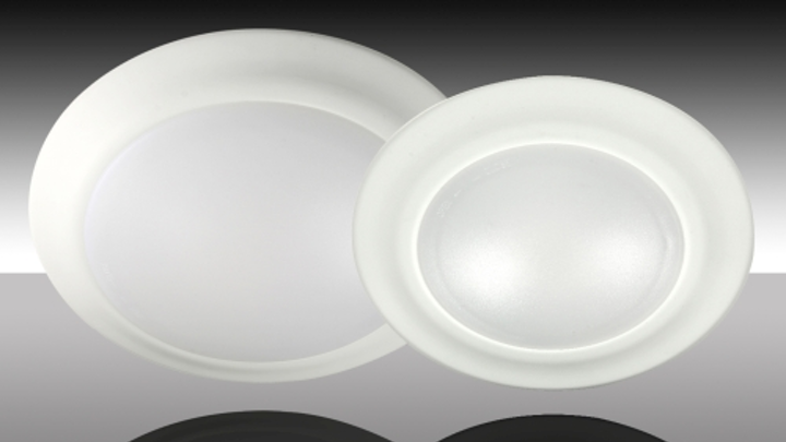 MaxLite LED Faux Cans are designed as a substitute for recessed downlighting