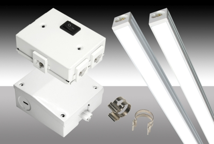 MaxLite upgrades plug-and-play linear LED lighting with installation accessories and new certifications