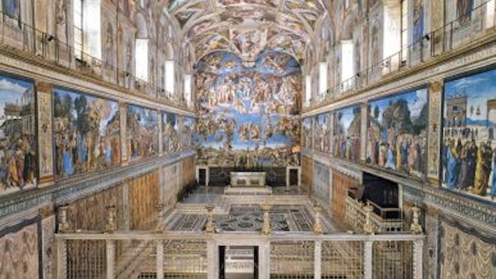 Osram completes the SSL retrofit of the Vatican's Sistine Chapel