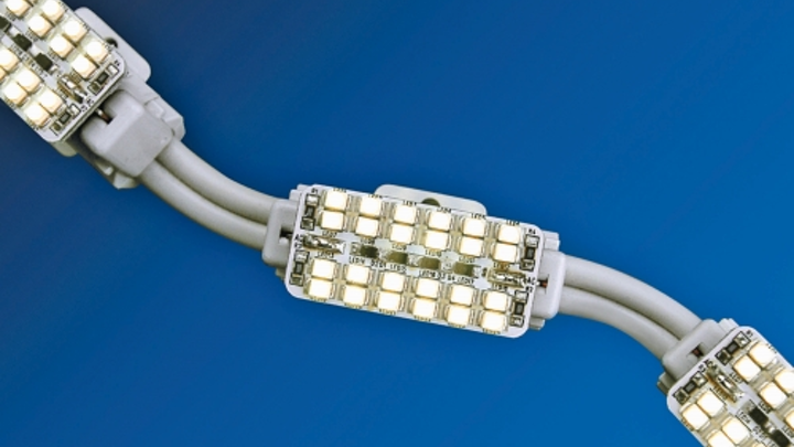 Starfire Lighting's Xen-Flexible linear LED lighting system is suited for cove lighting