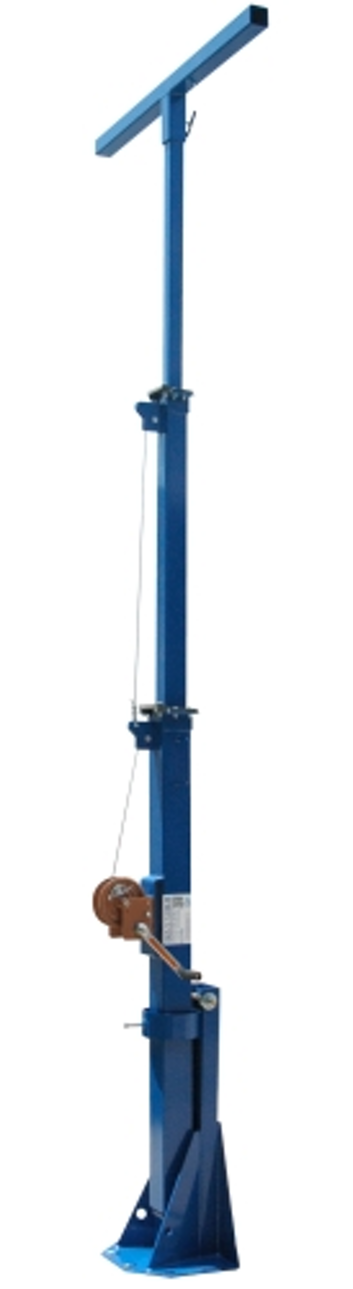 Larson Electronics releases a 15-ft telescoping mini light mast equipped with a 400W LED light source