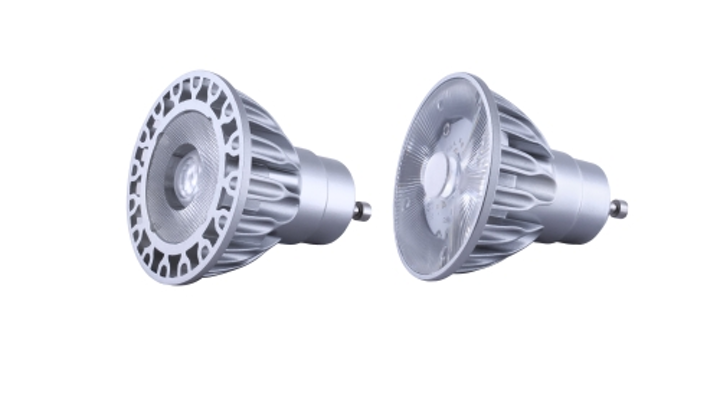 Soraa's full visible spectrum GU10 LED lamps use 7.5W to deliver 500-lm output