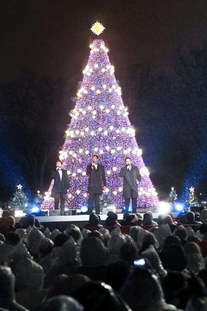 Ge Christmas Tree Lights.Us National Christmas Tree Gets Smart User Controlled Led