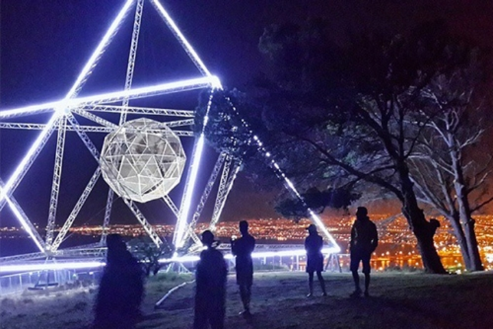 NTL Lemnis's Pharox LED striplights used to illuminate 'Sunstar' in Cape Town