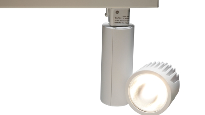 GE Lighting expands LED-based Lumination series with track fixtures for accent and retail lighting