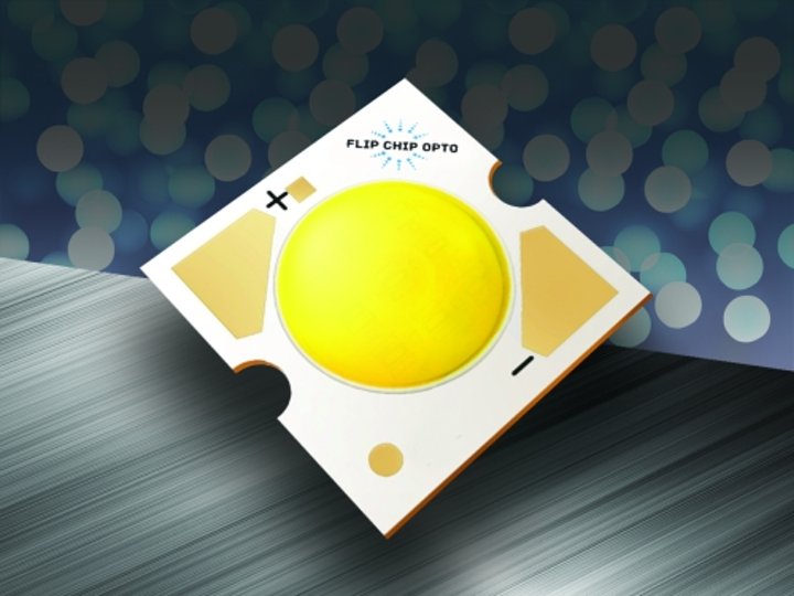 Flip Chip Opto debuts three-pad LED flip chips for high-power lighting applications