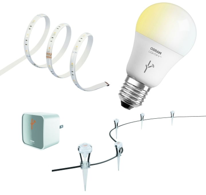 Osram Sylvania's Lightify connected lighting portfolio shows at 2015 International CES