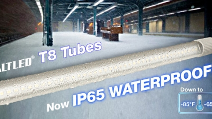 Aeon Lighting Technology debuts IP65-rated LED tube for application in cold environments