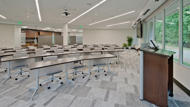 Ingersoll Rand upgrades headquarters with GE Lighting LED luminaires